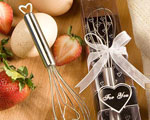 Heart Design Wire Whisk Favors baby favors