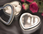 Heart Shaped Boxes / Mint Tins baby favors