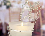 Butterfly-design Candleholders / Place Card Holders baby favors