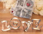 Love Cookie Cutters baby favors