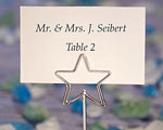 Shining Star Design Place Card Holder Favors baby favors