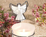 Guardian Angel Photo/Place Card Holder Candles baby favors