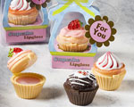 Sweet Little Cupcake Design Lip Gloss Favors baby favors