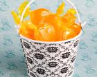 Cute Metal Damask Design Pails baby favors