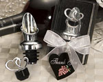 Heart Design Wine Pourer/Stopper baby favors