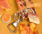 Autumn Magic Collection Leaf Design Bottle Openers baby favors