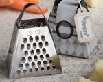 "A ""Grate"" Love Collection Cheese Grater baby favors"