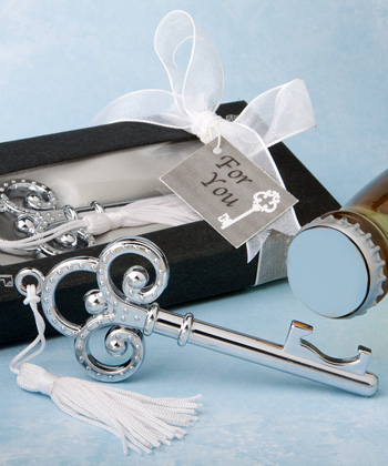 Key To My Heart Collection Key Design Bottle Opener wedding favors