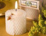 Pure Beeswax Candles baby favors