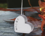 Heart Shaped Place Card Holder baby favors