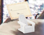 Adirondack Chair Place Card Holders baby favors