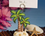 Ocean Breezes Collection Palm Tree Place Card Holders baby favors