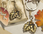 Autumn Inspired Keychain Favors baby favors