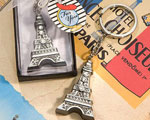 Love In Paris Collection Eiffel Tower Key Chain Favors baby favors