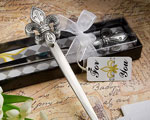 Exquisite Fleur Di Lis Letter Openers baby favors