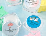 Personalized Lip Balm baby favors