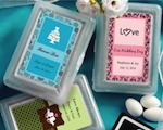 Personalized Expressions Playing Card Favors baby favors