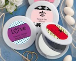 Personalized Expressions Collection Mirror Compact Favors baby favors