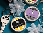 Personalized Expressions Collection Key Ring Favors baby favors