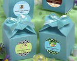 Design Your Own Collection Decorative Boxes - Blue baby favors
