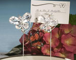 Exquisite Clear Butterfly Place Card Holders baby favors