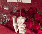 LOVE Design Place Card Holders baby favors