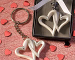 Interlocking Heart Design Favor Saver Key Chains baby favors