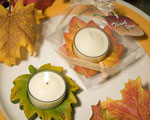 Autumn Themed Candle Favor baby favors