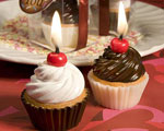 Yummy! Cupcake Candle Favors baby favors