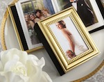 """Little Book of Memories--Gold Edition"" Mini Photo Album baby favors"