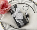 Chrome Heart Bottle Stopper in Showcase Display Box baby favors