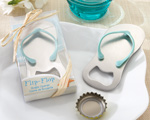 """Pop the Top"" Flip-Flop Bottle Opener baby favors"