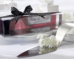"""Slice of Style"" Stainless Steel High Heel Cake Server baby favors"