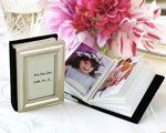 """Little Book of Memories"" Place Card Holder/Mini Photo Album baby favors"