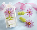 """Blooming"" Flower Bottle Stopper in Whimsical Window Gift Box baby favors"