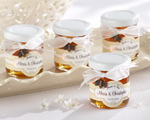 """Meant to Bee"" Personalized Clover Honey baby favors"