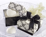 """Sweet Heart"" Heart-Shaped Scented Soap with our Signature Charm baby favors"