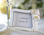 Swaying Calla Lily Pearlescent Place Card/ Photo Frame baby favors