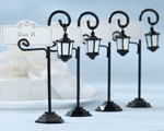 """Bourbon Street"" Streetlight Place Card Holder with Coordinating Place Cards baby favors"