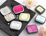 Personalized Mint Tins (165 Design Choices!) - Wedding baby favors