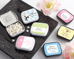 Personalized Mint Tins (165 Design Choices!) - Baby Shower baby favors